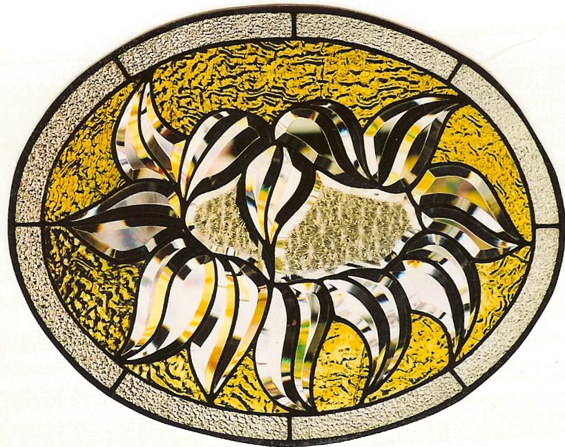 Stained Glass Vases Sunflower Glass Studio