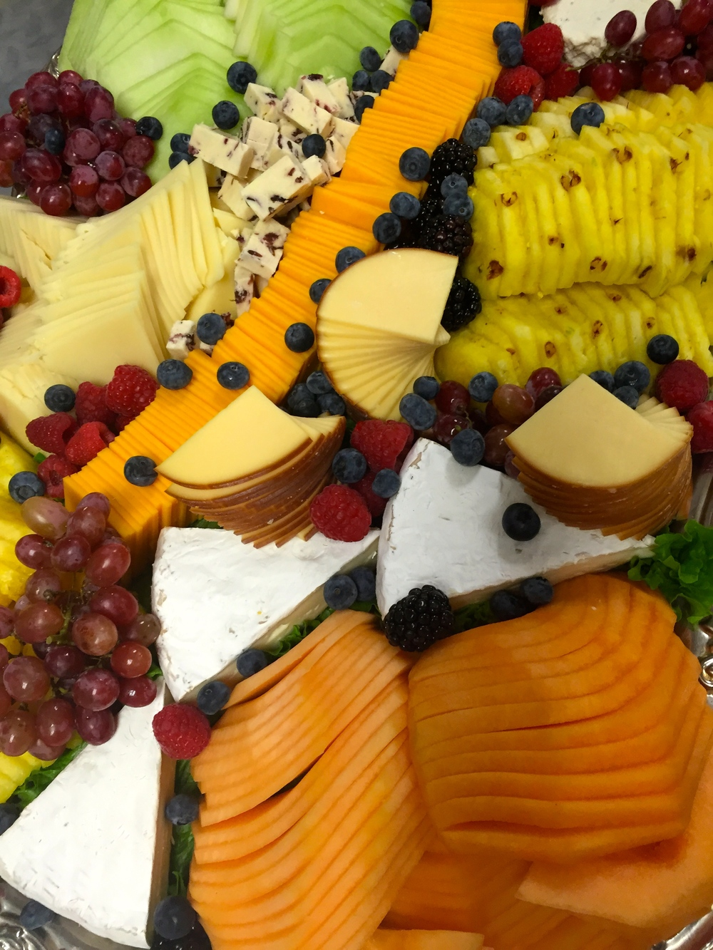 Europen Fruit & Cheese tray