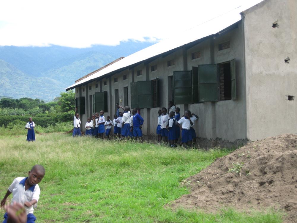 First classroom block - 2008