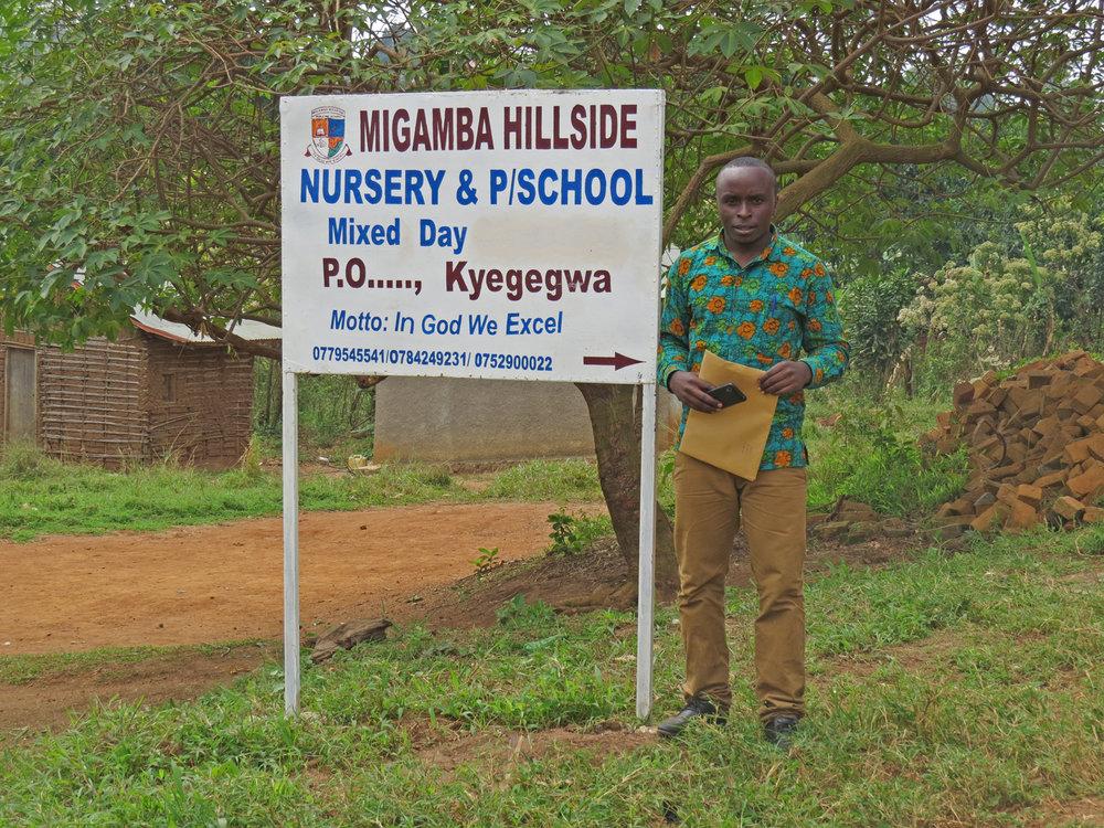- Migamba Hillside School, Uganda
