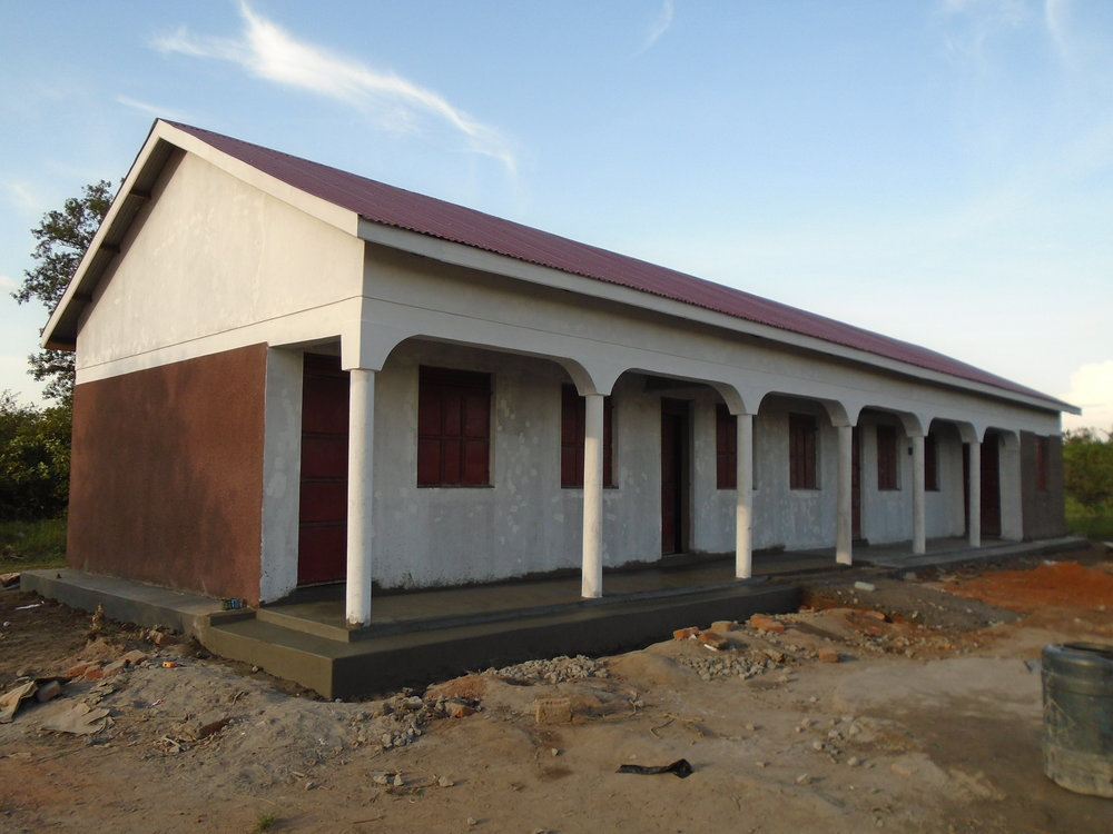 First permanent classroom block