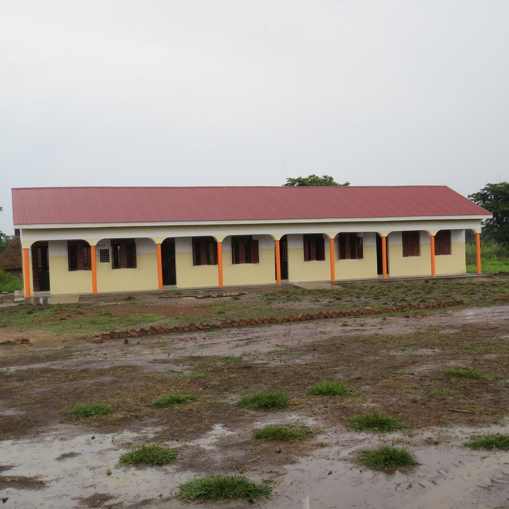 Third classroom block