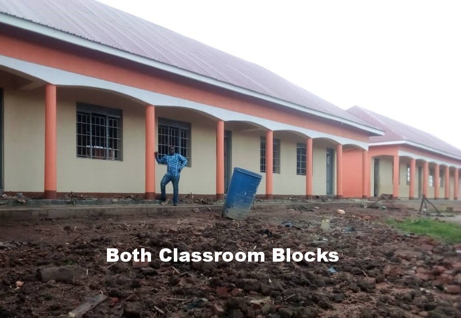 Both classroom blocks completed