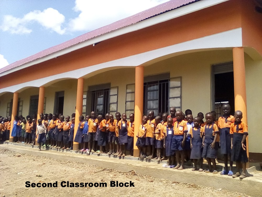 Second classroom block - Sept 2018