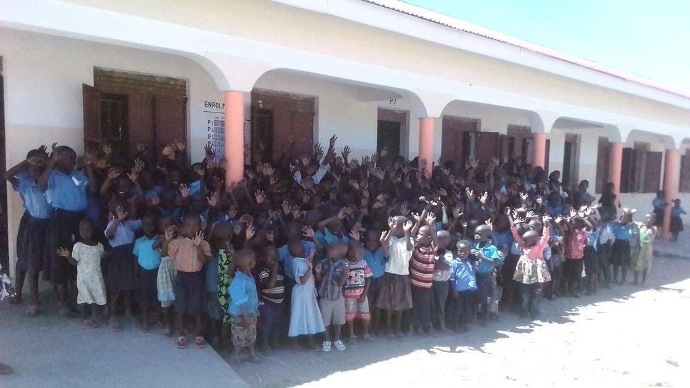 10 permanent brick classrooms 2019