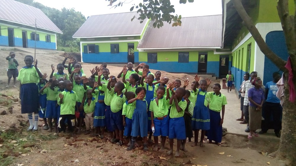 2019: 7 permanent brick classrooms so far