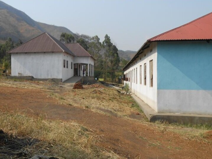 Girls' dormitory - behind first classroom block