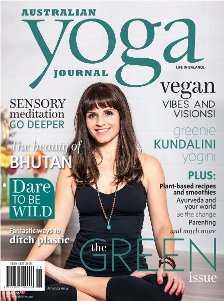 AUSTRALIAN YOGA JOURNAL NOVEMBER 2016