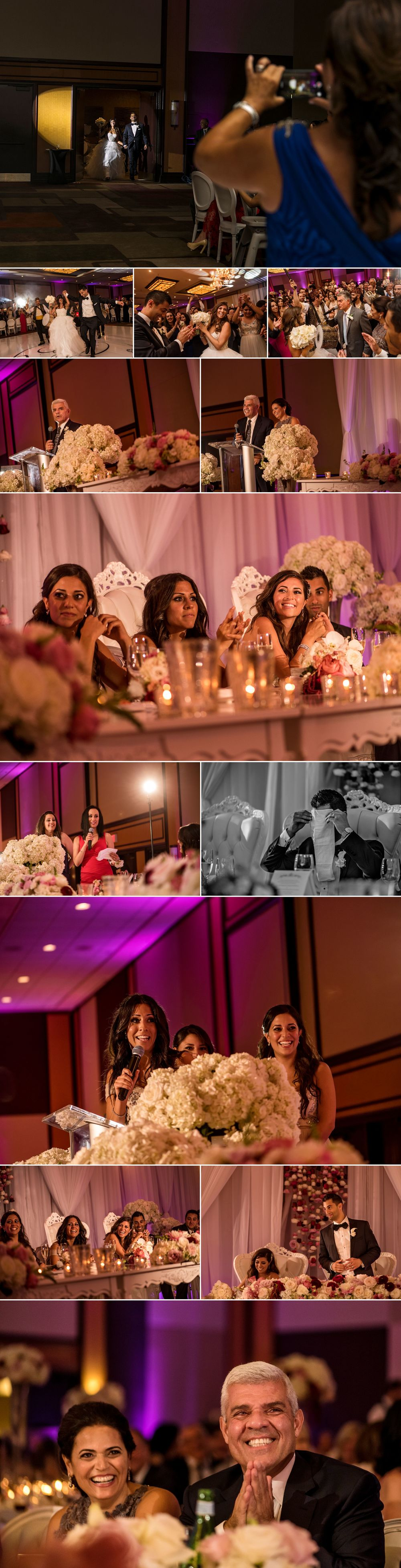 Wedding reception photographs at the Hilton Lac Lemy