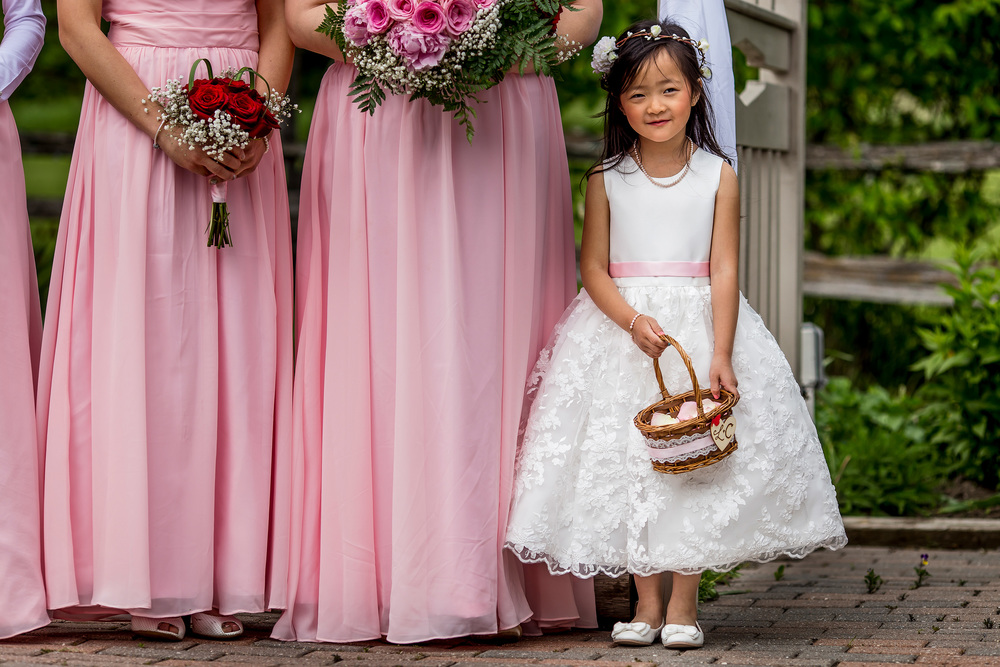 bridesmaids flower girl strathmere wedding north gower