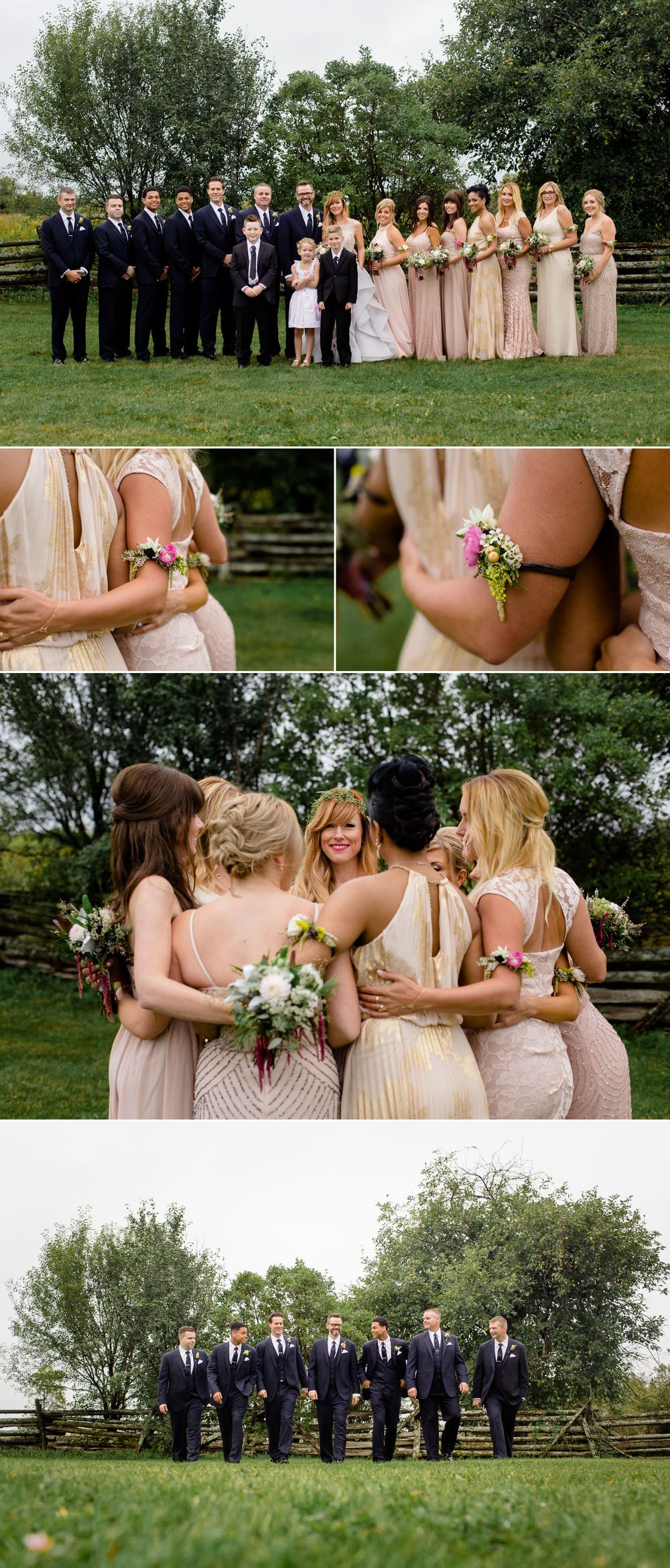 Bridesmaids and groomsmen images