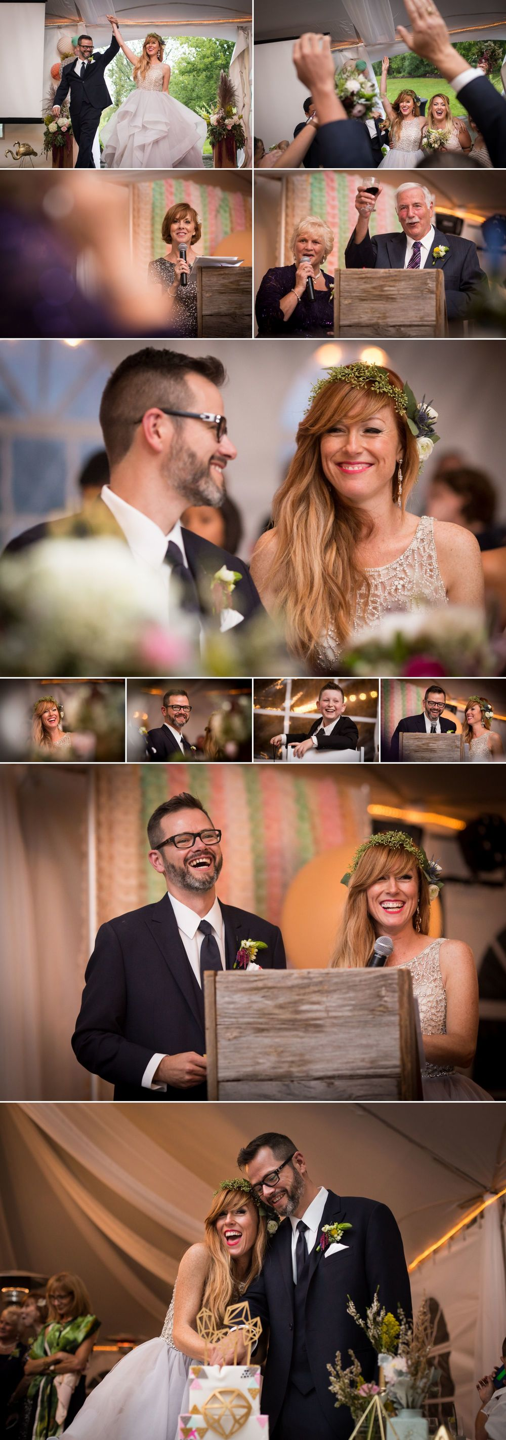 Wedding reception photos at Stonefields Heritage Farm
