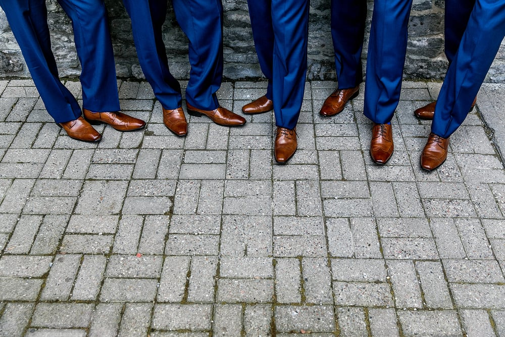 groomsmen portrait in downtown ottawa