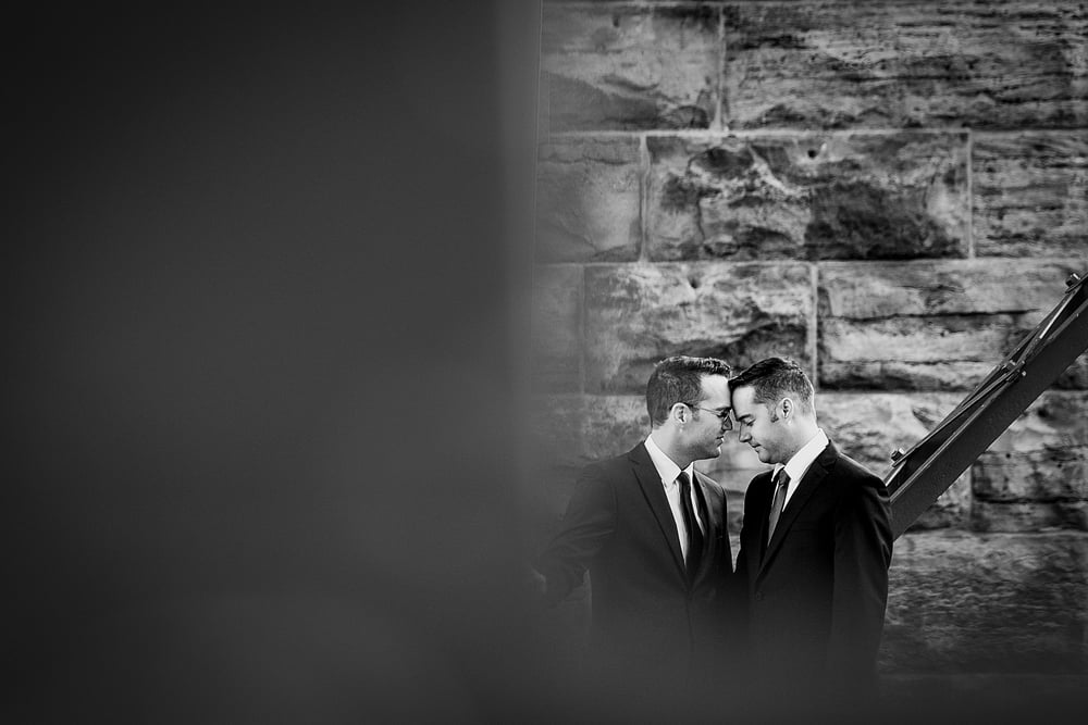 same sex wedding photograph