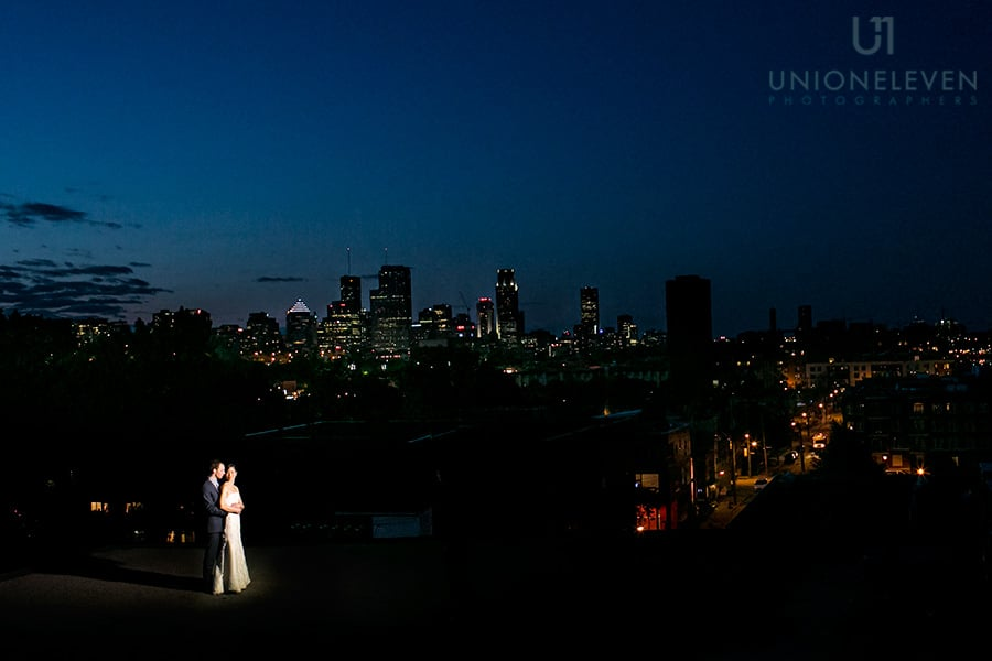 Montreal wedding at Entrepots Dominion