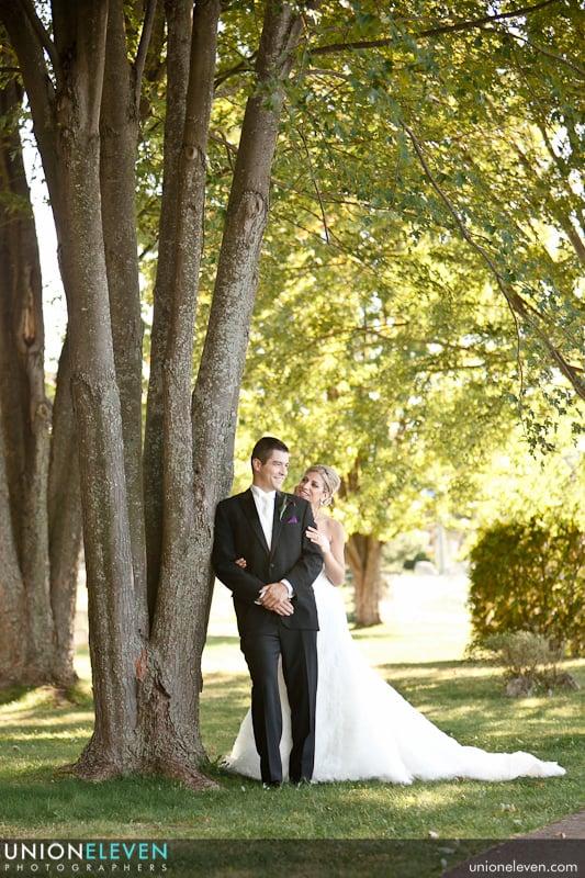 ottawa museum of civilization wedding photo