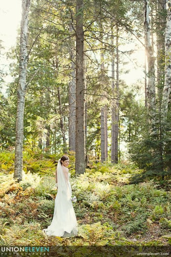 Mont Tremblant wedding photo