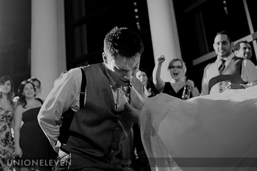 sidedoor restaurant ottawa wedding photo