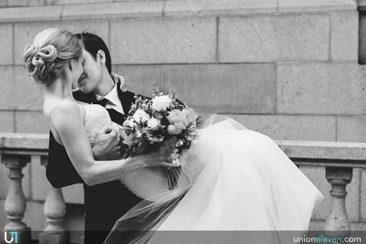 Chateau Laurier wedding photograph