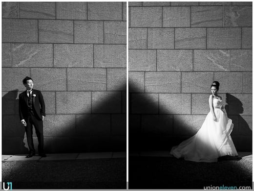 national gallery wedding photo