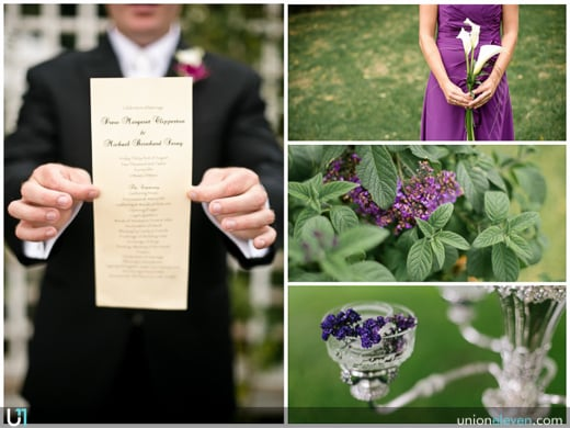 Earnscliffe wedding photograph