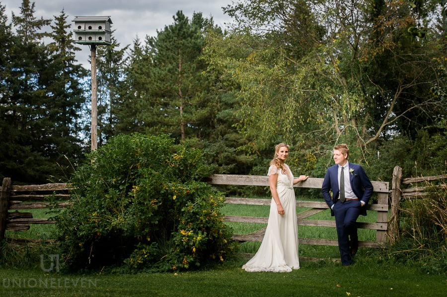 backyard wedding photo