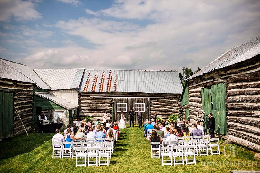 wedding ceremony site stonefields carlelton place wedding