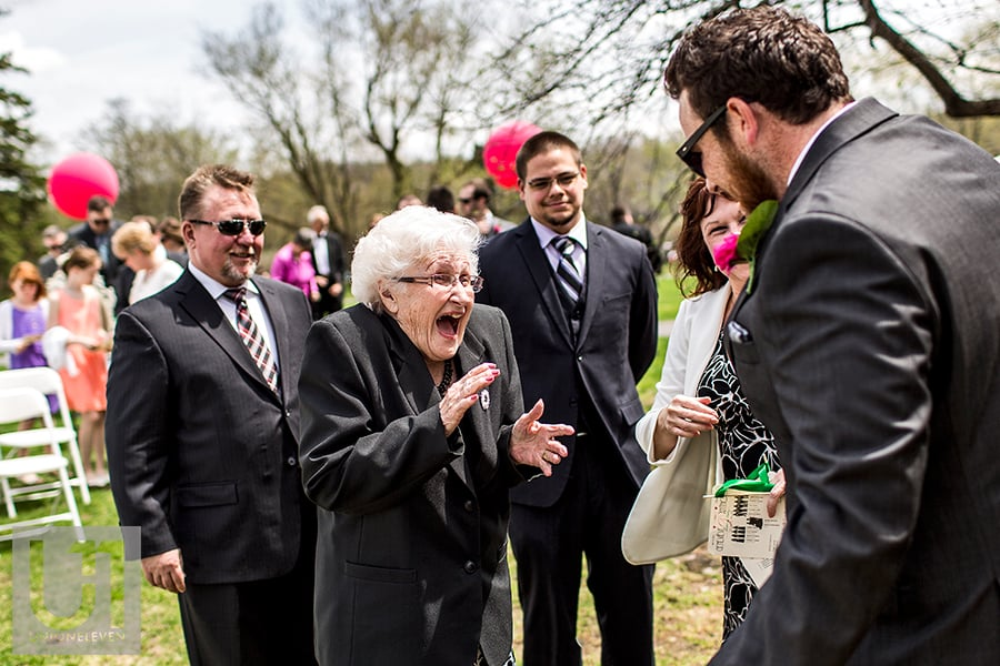 billings-estate-wedding-groom-greeting-grandmother