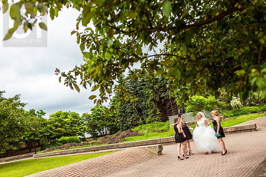 bride-waiting-with-bridesmaids--westin-hotel-ottawa-wedding