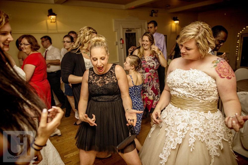 a dancing wedding photograph