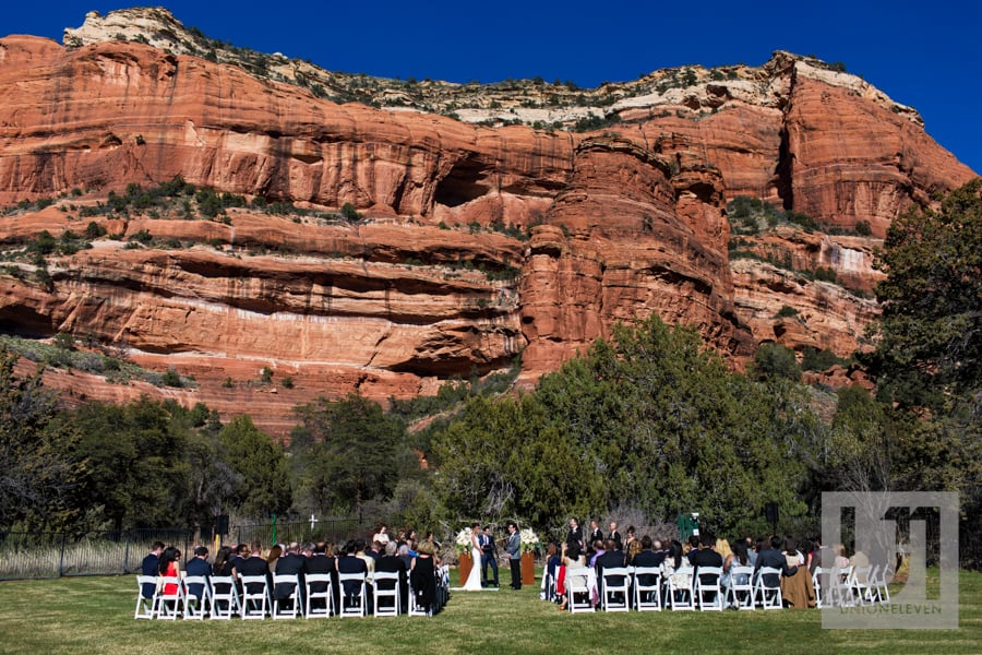 Sedona Arizona Wedding at the Enchantment Resort