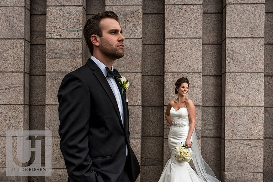 bride groom portrait national gallery of canada ottawa wedding