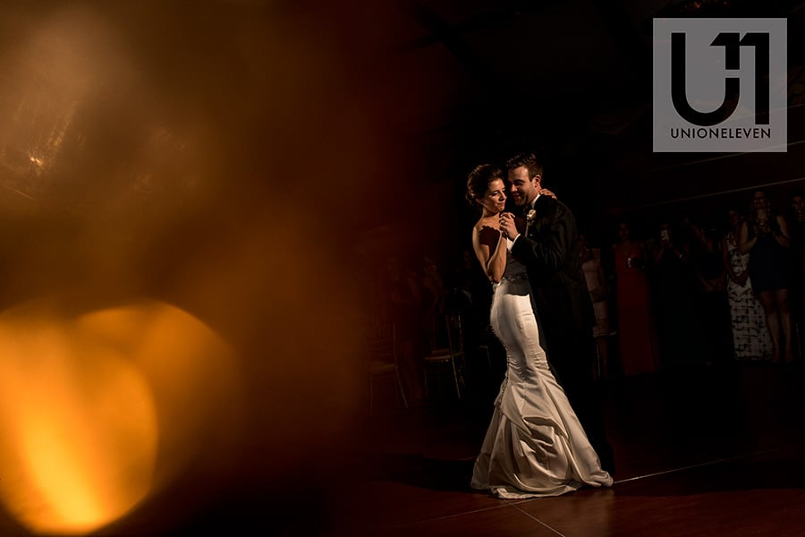 bride groom first dance hilton lac-leamy wedding
