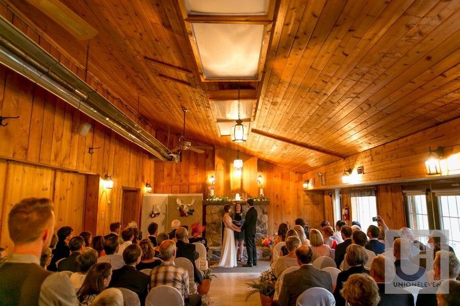 indoor strathmere wedding ceremony
