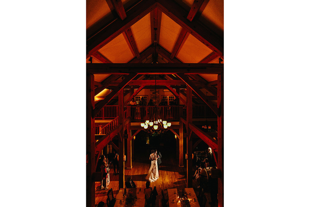 first dance at tempels sugarbush