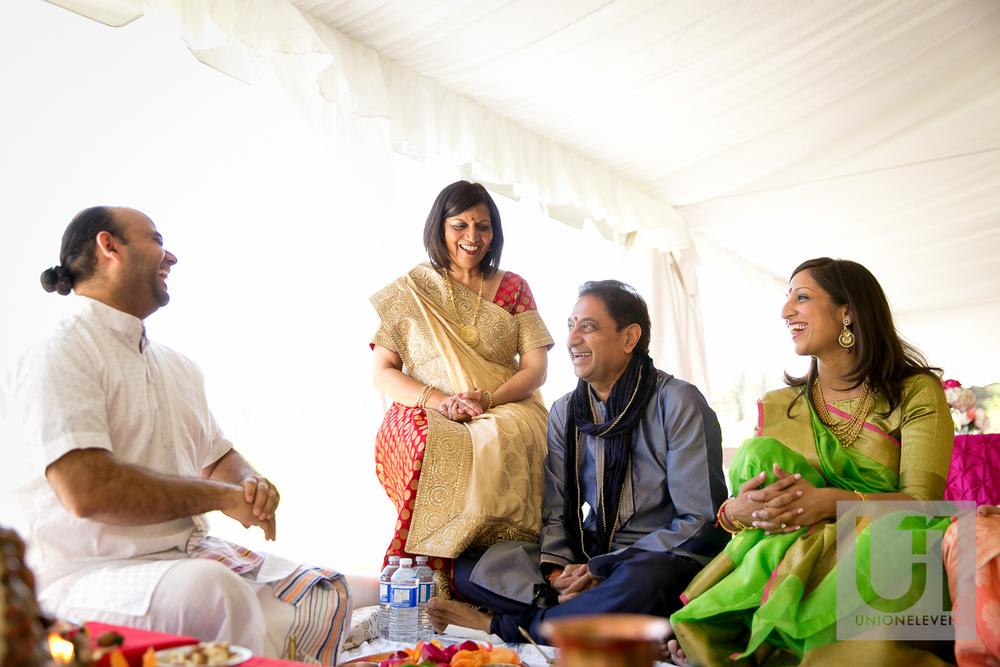 brides side mendhi ceremony in ottawa