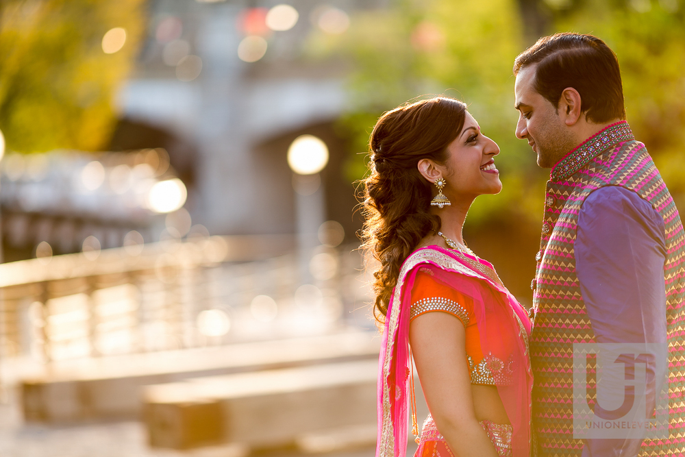 indian couple getting married in downtown ottawa
