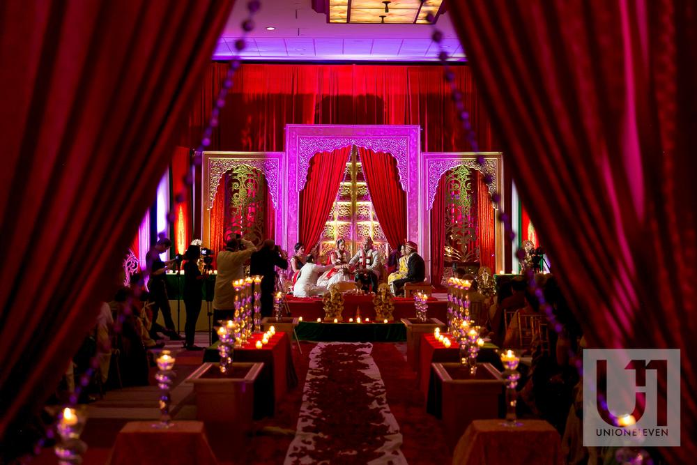 Hindu wedding ceremony in Ottawa at the Westin Hotel