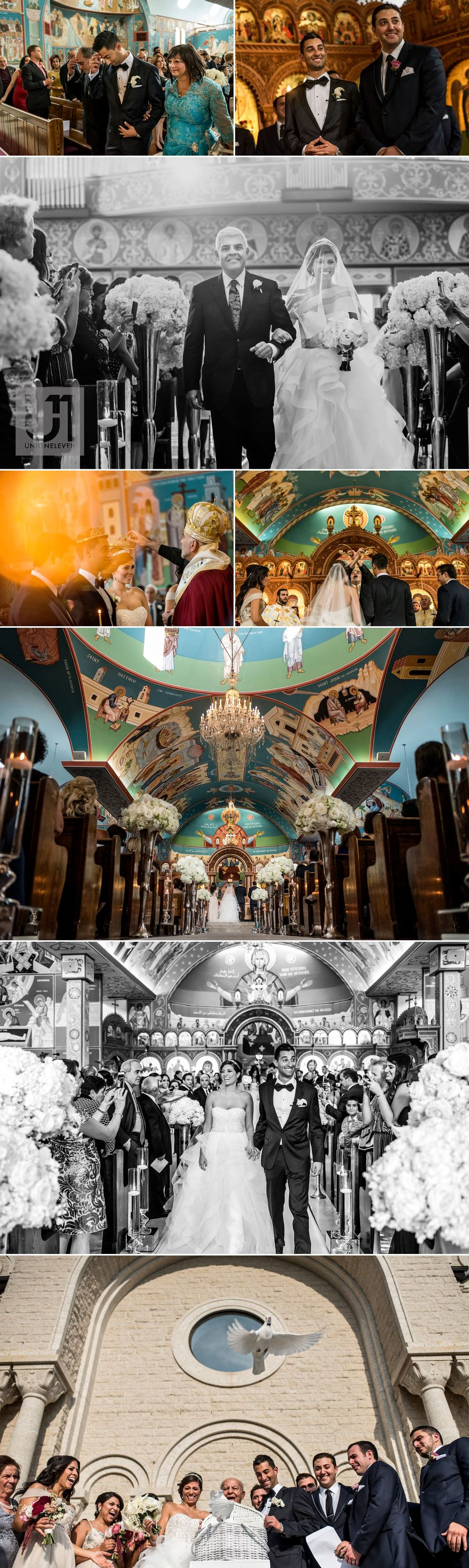 lebanese wedding ceremony at the st elias antiochian orthodox cathedral in ottawa ontario