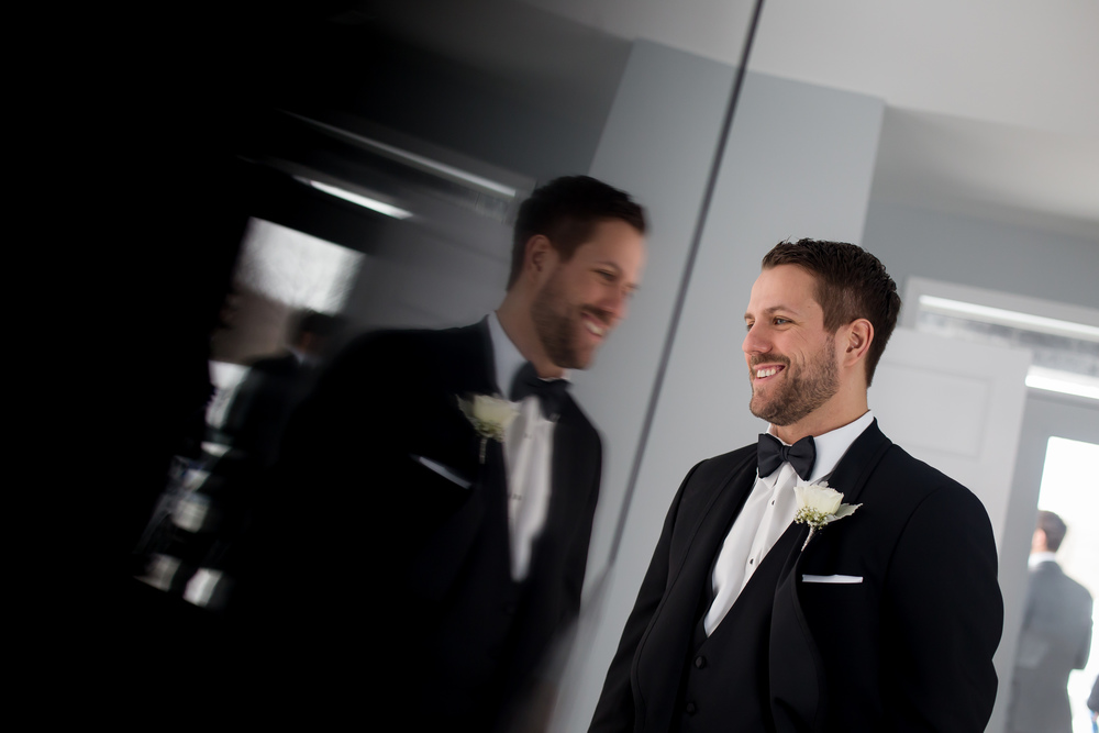 A portrait of the Groom