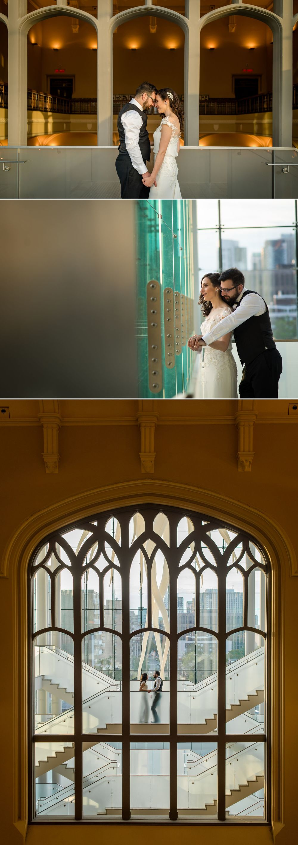 Wedding portraits at the Museum of Nature, Ottawa