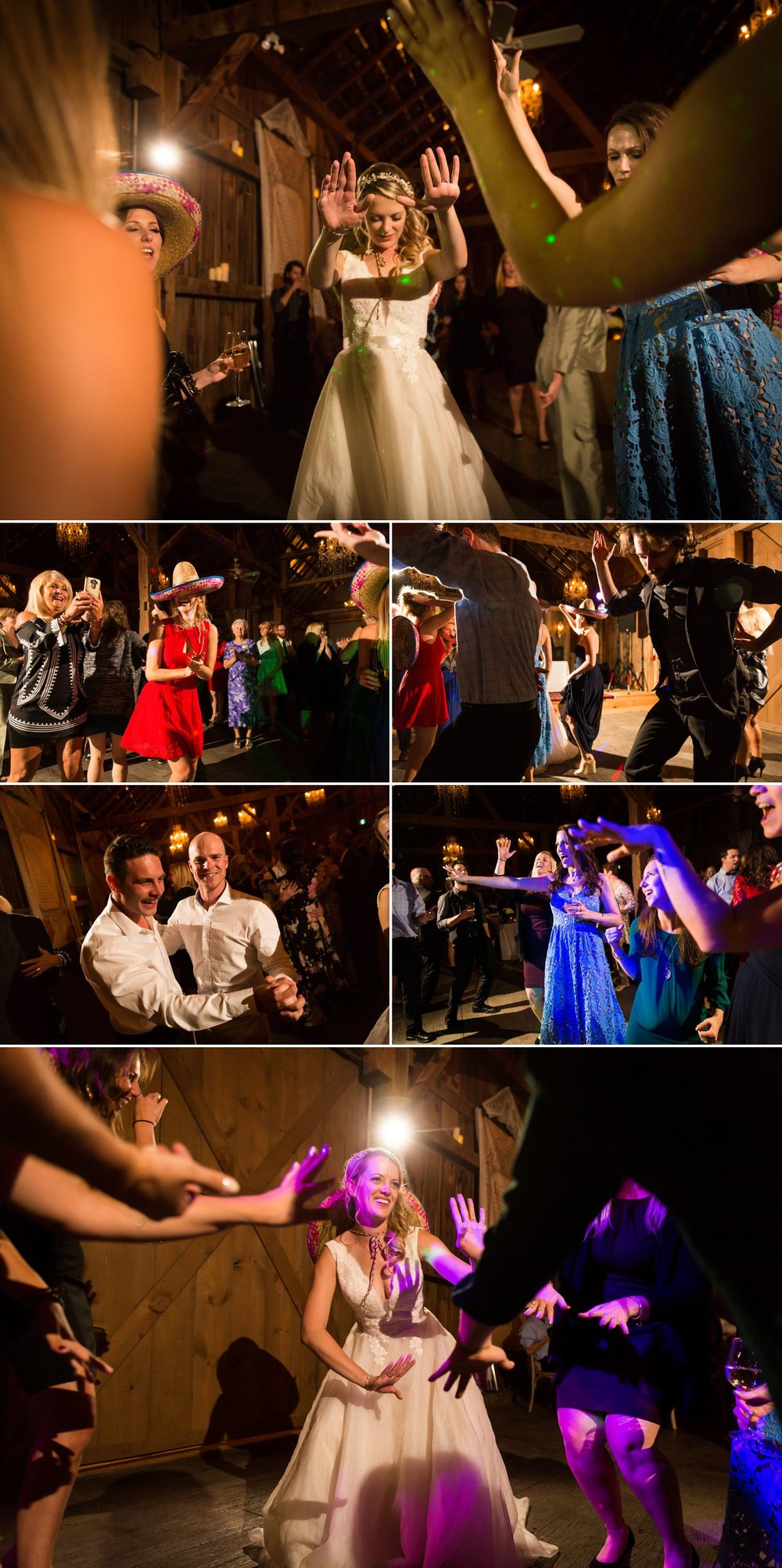 A wedding reception at Evermore Weddings & Events