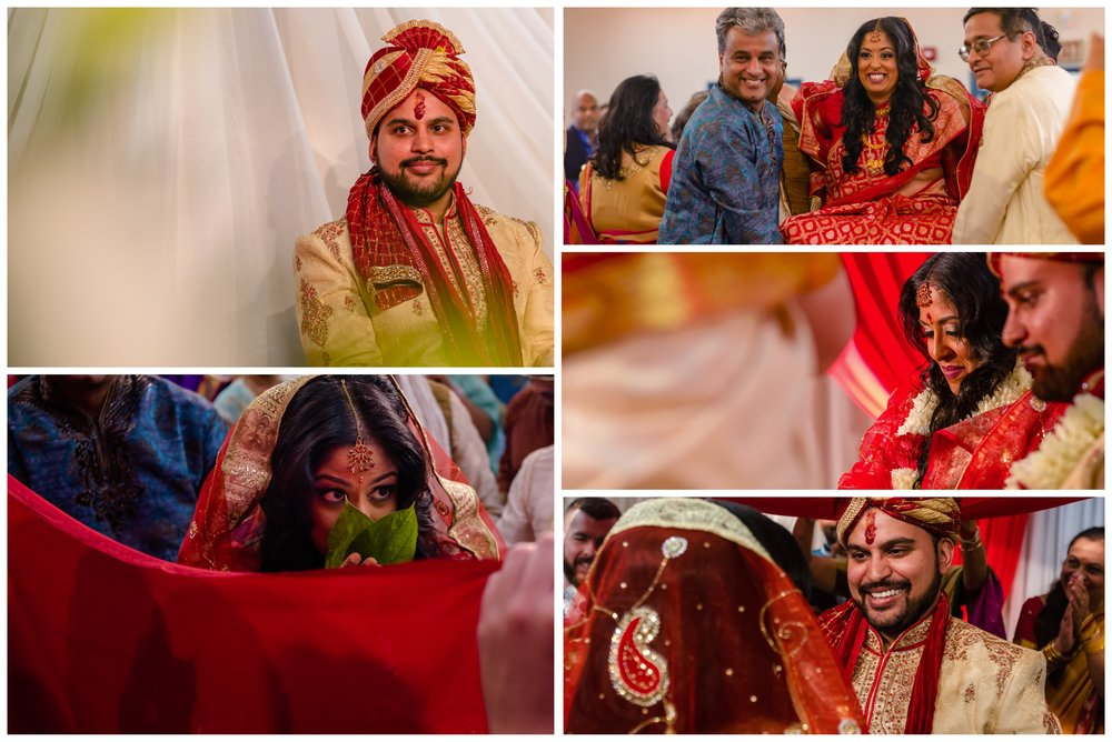Hindu Indian wedding ceremony photographs