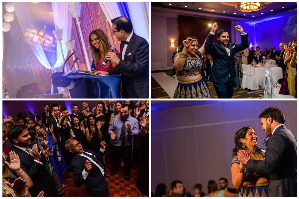 Indian wedding reception photos