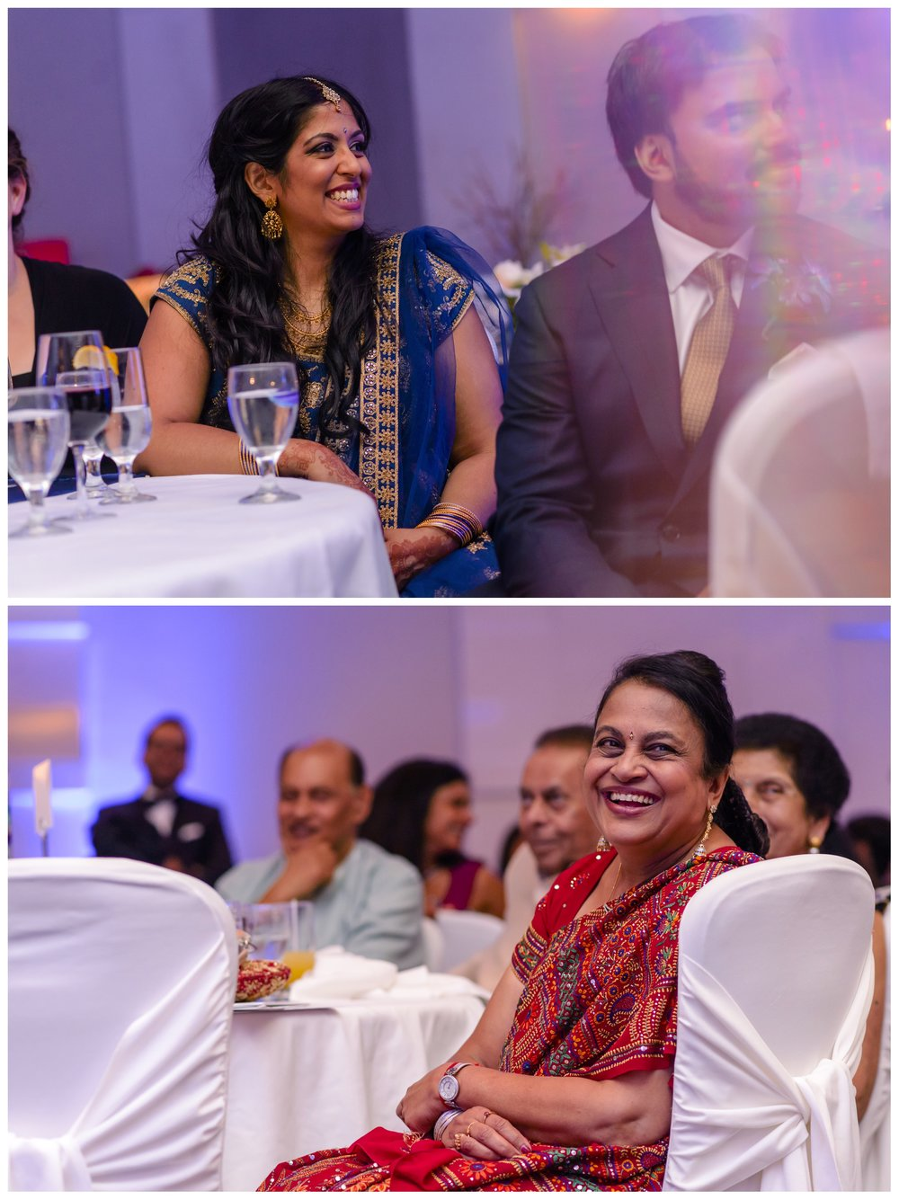 Indian wedding reception photographs