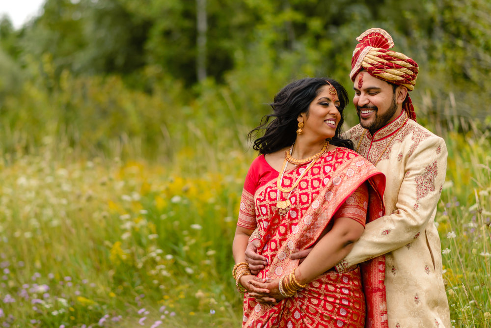 Photograph from an Indian wedding in Ottawa