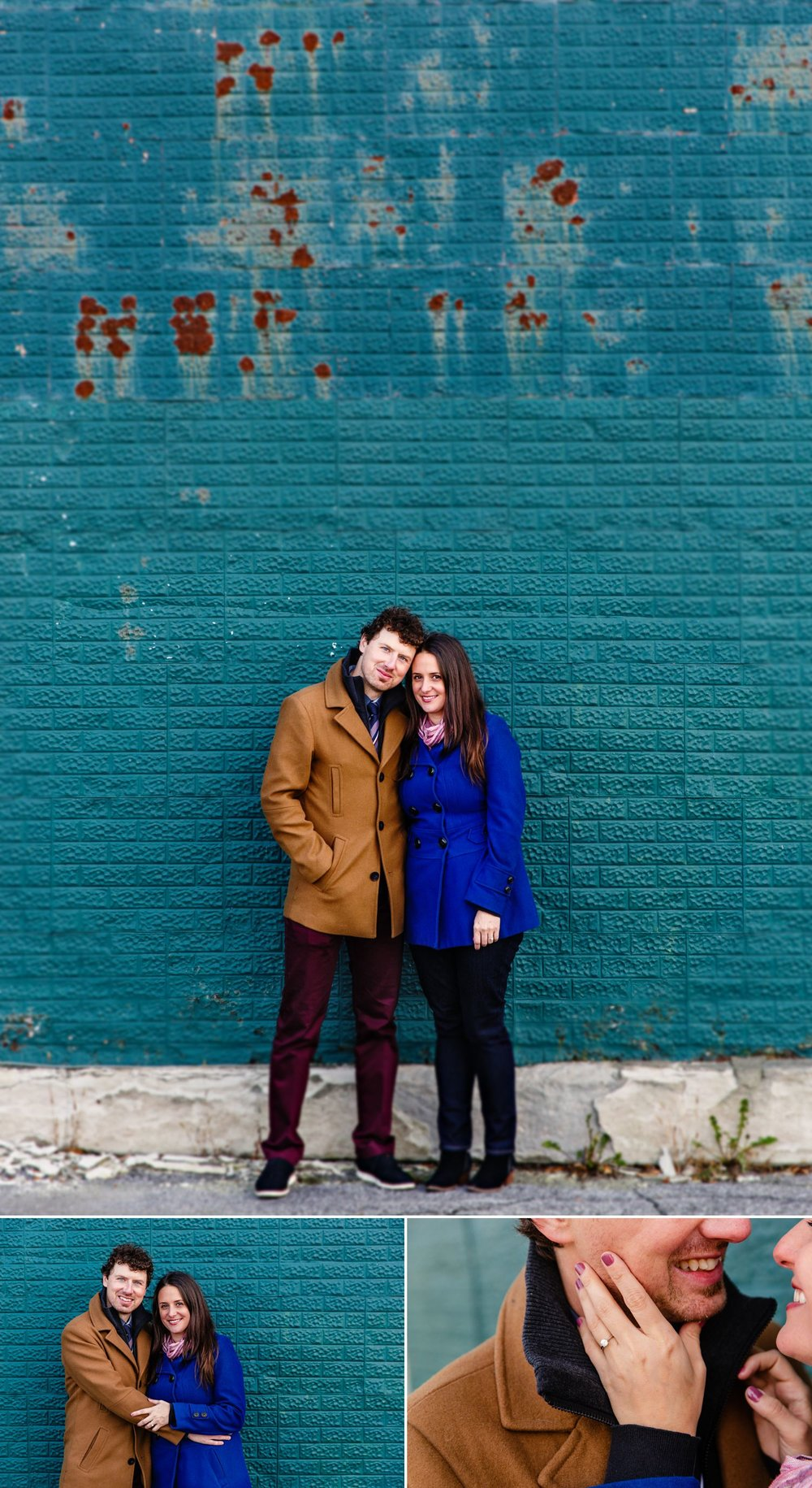 Couples portraits taken outside in Gatineau Quebec