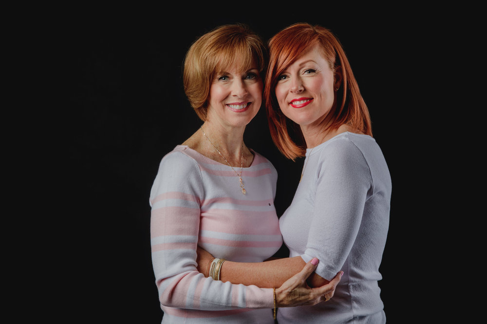 photograph from an in-studio mothers day session