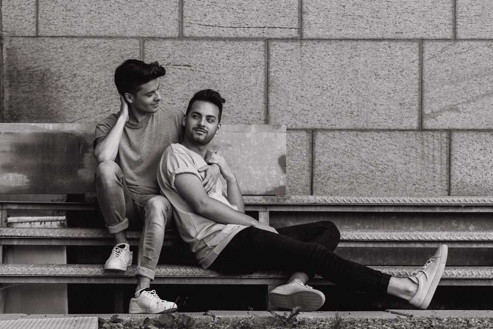 same sex engagement photograph in ottawa
