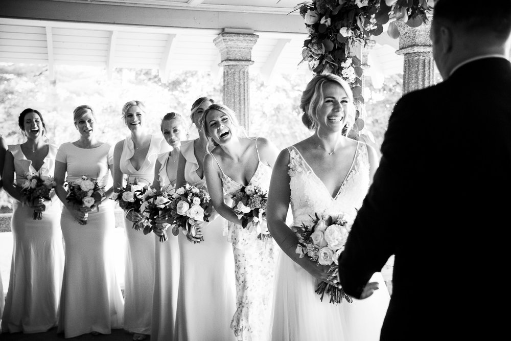 beautiful moment during a wedding ceremony at the rockcliffe park pavillion in Ottawa